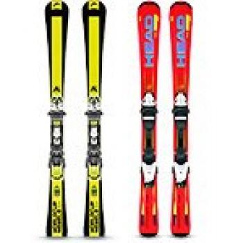Лыжи, лыжные палки и ботинки