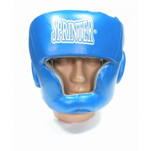 Шлем боксёрский закрытый SPRINTER Leather