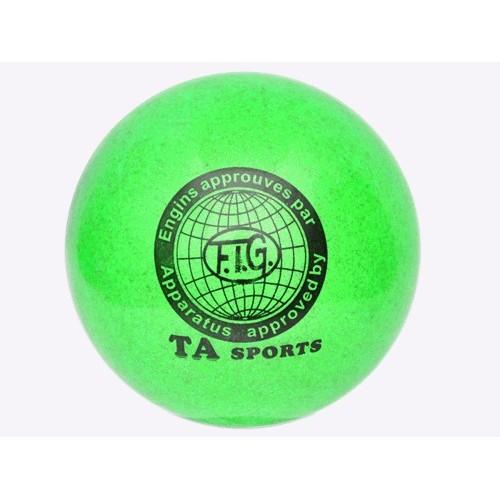 Мяч для художественной гимнастики TA sports Glitter 15см