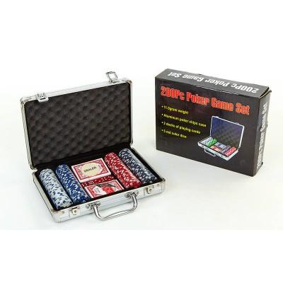 Набор для игры в покер 200Pc Poker Game Set с доставкой по Харькову и Украине
