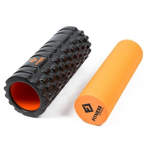 Ролик массажный Fitness Active Pro 2in1